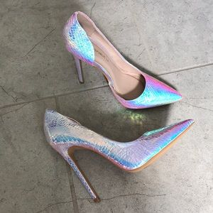 Shoes - Iridescent Heels